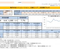 三重県紀宝町o様 従量電灯A 年間【13,068円】お得